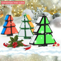 Christmas Tree Cube Magic Cube Puzzle Ultra-Smooth Magic Puzzle Xmas Gifts