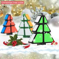 Christmas Tree Cube Magic Cube Puzzle Ultra-Smooth Magic Puzzle Xmas Gifts