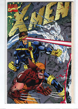 X-men #1 gatefold variant cover Jim Lee Wolverine Magneto Cyclops Gambit 9.6