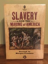 Slavery and the Making of America DVD 2005 4-Disc Box Set With Morgan Freeman