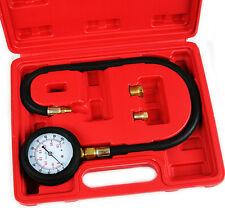 Oil Pressure Tester Gauge Engine Diagnostic Test Kit Adapters Case 0-100psi