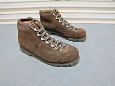 Vintage Alps 360 Fabiano Palons Brown Suede Hiking Boots Men's size 8.5 Narrow