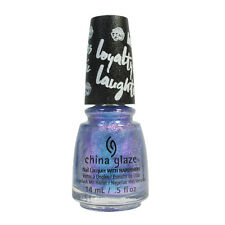 China Glaze Nail Polish Lacquer 83990 Let Your Twilight Sparkle 0.5o