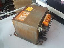 NTR MDL TRANS N 6438 VDE 550 UNE 20339 KVA 1,5 V PR 220 V SC 100 TRANSFORMADOR G