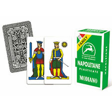 Cards Neapolitan Plastic Coated modiano Deck Mop Trump Game For Board 3407