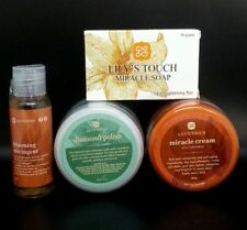 4PCS LILYS TOUCH MIRACLE CREAM LILYS ASTRINGENT SOAP & DIAMOND POLISH