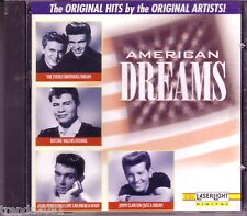 AMERICAN DREAMS Laserlight CD Classic 50s GENE PITNEY RITCHIE VALENS PENGUINS