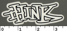 THINK SKATEBOARDS GRAFFITI VINTAGE (90'S) SKATE NOS STICKER