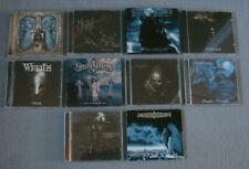 CD Sammlung 10 Stück   + Black Metal +