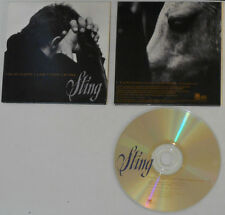 Sting - I'm So Happy I Can't Stop Crying (LP Vers. 3:56) - U.S. Promo CD Single