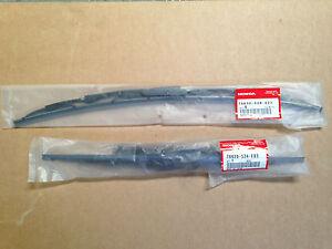 GENUINE HONDA S2000 FRONT WIPER BLADE SET 2000-2009