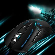 Adjustable 3200 DPI 6D LED Optical USB Wired Gaming Mouse Mice For PC Laptop*