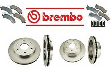 For Chevy Avalanche 1500 03-06 V8 5.3L Brembo Front Rear Brake Rotors & Pads Kit