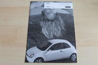 81887) Ford Ka - Preise & Extras - Prospekt 04/2007