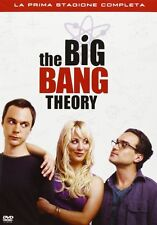 The Big Bang Theory - Serie TV - 1^ Stagione - Cofanetto 3 Dvd - Nuovo Sigillato