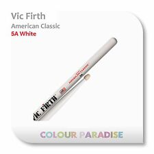 5 pairs x Vic Firth American Classic Wood Tip Drum Sticks 5A White
