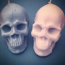 Handmade Custom Skull Scented Candle (available in Many Colours Upon Request)