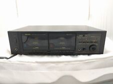 Vintage Philips PD500B PD 500B Double Dual Cassette Tape Deck Rare Dolby Stereo