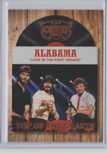 2014 Panini Country Music Top of the Charts Trading Card #3 Alabama