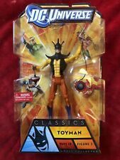 DC Universe Classics Toyman WAVE 18 figure 3 SEALED w BAF APACHE CHIEF Mattel