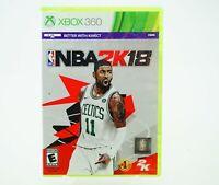 NBA 2K18: Xbox 360 [Brand New]