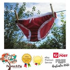 Knicker Pattern - DIY Kit, Fabric, Pattern, Gusset, Elastic, Ribbon all included