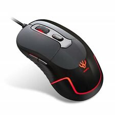 HIMIFOY Wired Gaming Mouse 3200 DPI 4 Adjustable DPI Levels 1200/1600/2400/3200