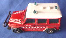 MATCHBOX ® Modellauto Mercedes-Benz 280 GE Rescue Unit, bespielt,Made i. England