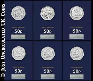 2020 2021 Dinosaur Fifty Pence Coins BU – Megalaurus Iguanodon Hylaeosaurus 50p