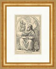 Il santo Lucas Lukas artisti libro Binder notai St. legno chiave Sankt a6 1074