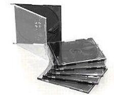 CD Single Slim Jewel estuches Negro 200 En Caja