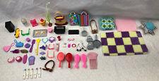 Huge Lot Of Barbie Kelly Doll My Scene Accessories