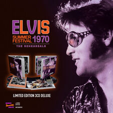 SUMMER FESTIVAL 1970 - THE REHEARSALS (DELUXE 3CD + BOOK) by ELVIS PRESLEY