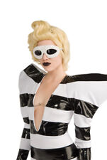 White Lady Gaga Womens Halloween Sunglasses