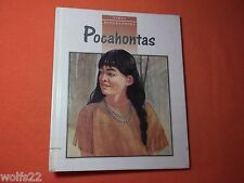 First Biographies Ser.: Pocahontas by Kathleen Thompson and Jan Gleiter...