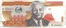 Laos 20000 Kip 2002 Unc pn 36a
