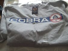 Cobra Adult's T-shirt Classic Tee for Men - NWT~Size 3XL