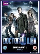 DOCTOR WHO - SIXTH SEASON - SERIES 6 - PART  2 *BRAND NEW DVD*