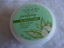 AVON NATURALS CREME VISAGE Purifiante aux extraits de thé & de concombre AVON