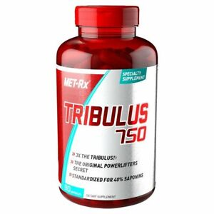 Met-Rx TRIBULUS 750 Muscle Builder 40% Saponins 90 Capsules 3x Stronger 04/2023