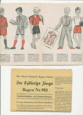 Beyer sammelbogen-sezioni KK 903 degli otto anni giovani Knabe