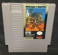 Nobunaga's Ambition   - Nintendo NES Game Rare Tested Authentic Original