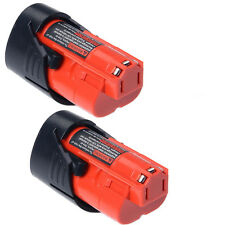 2x For Milwaukee 2.0AH 12V M12 M12B2 C12B 48-11-2401 48-11-2411 Li-Ion Battery