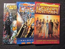 2000 THE AUTHORITY TPB Relentless 2nd Under New Management 1st LOT of 3 NM 9.4
