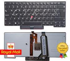 New Backlit Keyboard for IBM Lenovo ThinkPad X1 Carbon Gen 1 UK Layout, No Frame