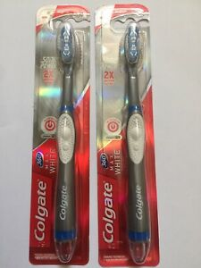 2 Colgate 360 Max White Expert Whitening Sonic Power Battery Toothbrush, 2 of