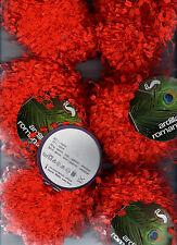 Ardilla Romantica Novelty Ladder  Wool  Yarn (5-6 skeins) Orange