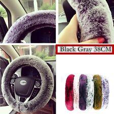 Vendite calde! accessori per auto 38 cm Elastico Soft & Caldo Inverno Volante Copertura