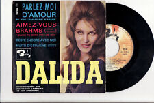 EP DALIDA-PARLEZ MOI D AMOUR-LANGUETTE-BARCLAY 70386-FRENCH
