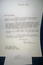 Helen Hudson Original Autograph Typed Letter Signed March 12 1969